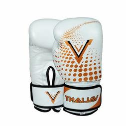 Boxing Gloves Leather MMA Muay Thai Sparring Training Punchi