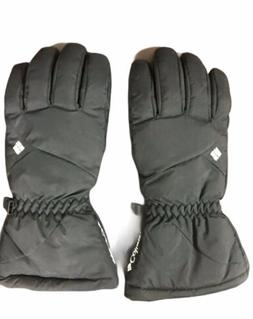 Columbia Brand Heavy Women's Winter Gloves Size Large Blac