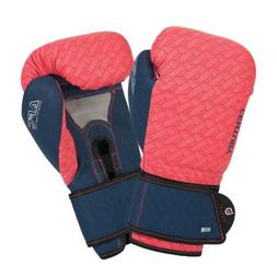 BRAVE WOMEN'S BOXING GLOVES - CORAL/NAVY