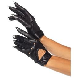 Claw Motorcycle Gloves With Keyhole Velcro Strap