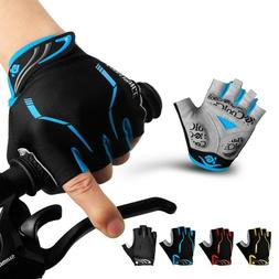 Cycling Gloves Half Finger Mens Women's Summer Sports Shockp