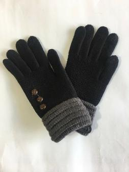 Fashion Womens Casual Winter Gloves Ladies Cotton Mittens Ou