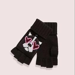 Kate Spade New York Francois Pop Top Mittens Gloves French B