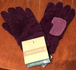 Isotoner Gloves NEW Women's Purple Thinsulate Stretch Fit