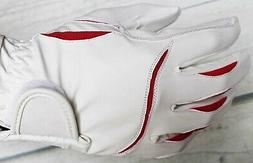 Grips Women Equestrian Riding Sheep Leather Gloves Western E