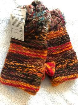 Hand Crafted Fingerless Gloves by Windhorse NWT