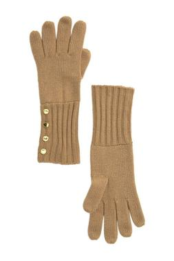 Michael Kors Knit Gloves CAMEL NDSA