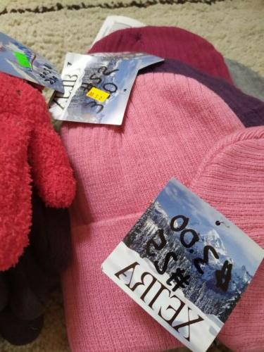 30 Pcs, New Wear: Hats, Gloves. With Tags. Going out of business