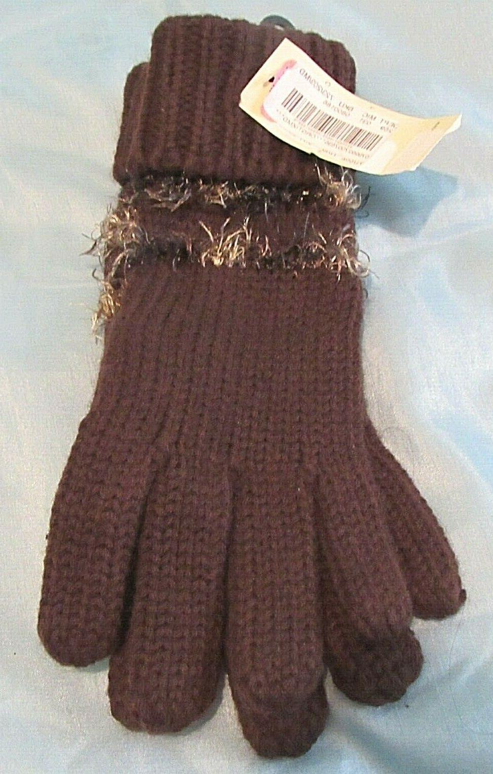 COLLECTION BROWN GLOVES NEW WITH TAGS
