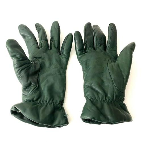 Gloves Size 7 Green