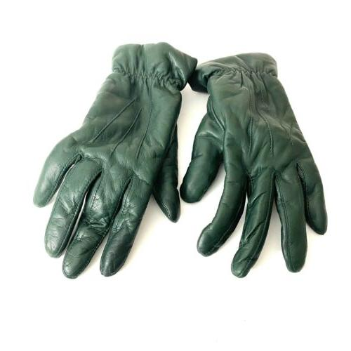 Fownes Womens Gloves Size Green