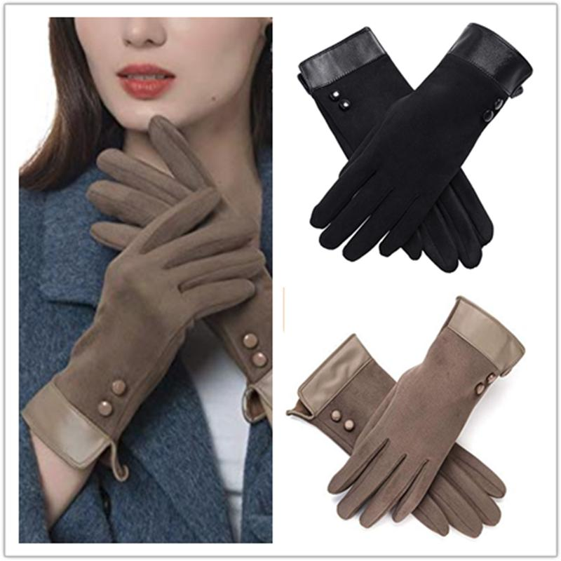 womens thick winter gloves warm windproof thermal