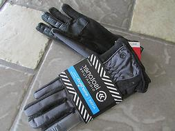 NEW ISOTONER BLACK & GRAY GLOVES WOMENS XS/S  A56802 SMARTOU