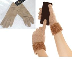 NEW Mixit Women's Gloves Day Glam Touchscreen Lightweight Wo