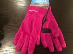 NEW! Columbia Women's Pearl Heat Furry Fleece Omni-Heat Glov