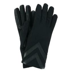 New Isotoner Women's Touchscreen Chevron Winter Gloves with