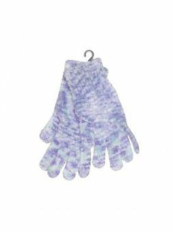 NWT Collection 18 Women Purple Gloves One Size