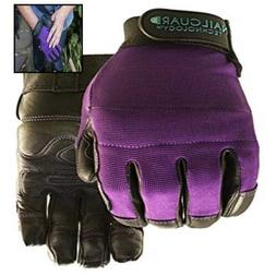 PURPLE Garden Glove For Women Size L LARGE Tools