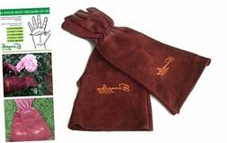 Rose Pruning Gloves for Men and Women. Thorn Proof Goatskin