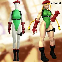 Street Fighter V Cammy White Costume Cosplay Jumpsuit Hallow