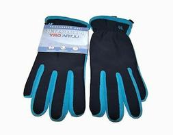 Isotoner Ultra Dry Waterproof Breathable Gloves Pacific Blue