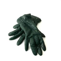 vintage womens winter gloves size 7 forest
