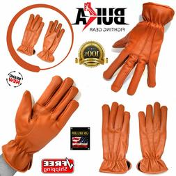 Winter Dress Gloves Women Thermal Linning Real Leather Ladie
