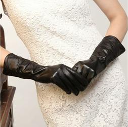 Women Genuine Nappa Leather Gloves On Sale w or w/o touch sc