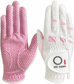 Women Golf Gloves Left and Right Hand Weathers of Pro Grip
