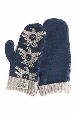 Australia Luxe Collective Women's Gray Knit Gloves - mittens