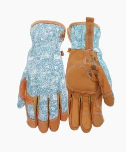 Style Selections Women's Medium Beige/Turquoise Leather Gard