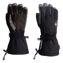 Columbia women's Powderhouse Black ski snow winter Gloves Me