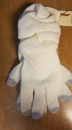 women s smart touch gloves ivory