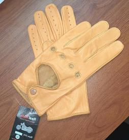 `Women Soft Genuine Sheep Leather Driving Fashion Gloves
