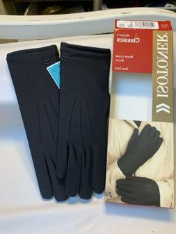 Isotoner Womens Classic Warm Lined Gloves One Size, Black, O