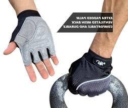 Workout Mesh Gloves Weight Lifting WOD Gym Crossfit Training